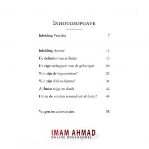 Al-Iman volgens de geloofsleer van Ahl as-Sunna wa-l-Jama'a